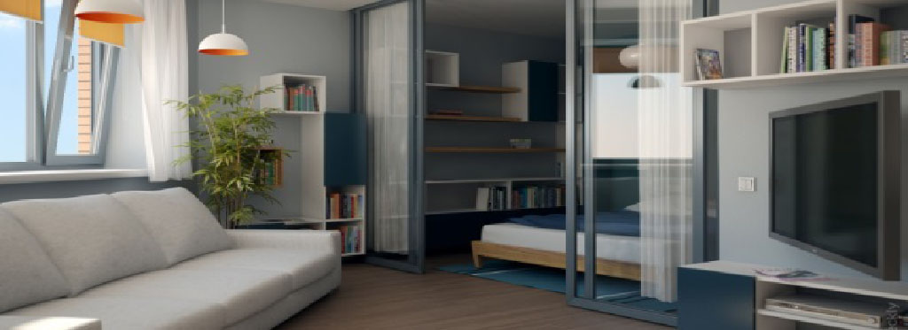 Фото ідеї для дизайну маленьких квартир